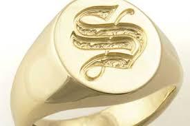 s ring bespoke signet ring shop
