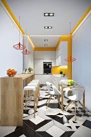 cgi interior render for a wonderful bright office kitchen archicgi