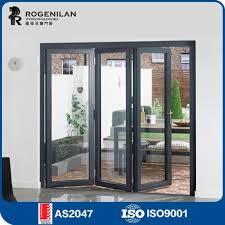 Folding Glass Patio Doors Prices Rogenilan 75 As2047 Australian Standard Aluminium Exterior Folding