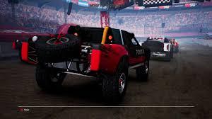 toyota t100 truck gravel toyota t100 trophy truck at stadium circuit