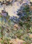 The House Seen from the Rose Garden - Claude Monet - WikiPaintings.