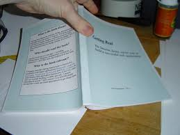 how to print and bind your own paperback book bookmaking bind your own paperback books with ease