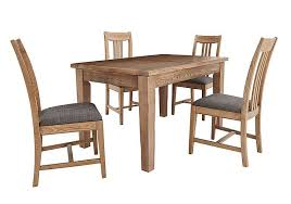 oak table and chairs provence extending oak table 4 chairs furnitureland furniture