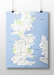 Game Of Thrones Map Of The World by Game Of Thrones U2013 When The Continent Of Westeros Meets Google Maps