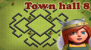 clash of clans war base 2016 town hall 8 th8 best war base 2016