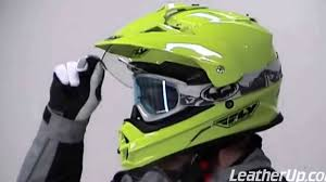 motocross helmet goggles fly racing dual sport trekker off road motocross helmets at