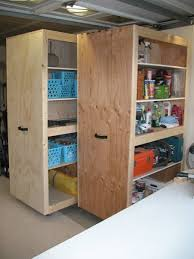 Build Wood Garage Storage by Best 25 Garage Storage Cabinets Ideas On Pinterest Garage