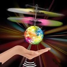 amazon com flying disco ball upmall rascal mini flying ball led