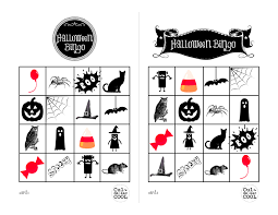 Halloween Templates Free Printable Printable Halloween Bingo Cards U2013 Festival Collections