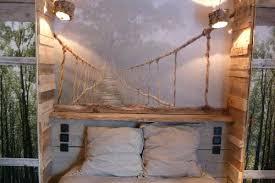 chambre deco bois du bois flottac dans la dacco idees deco bois flotte ambiance nature