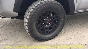 toyota tacoma road wheels 2016 toyota trd offroad tacoma with wheel and tire package