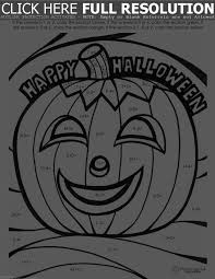 educational halloween coloring pages u2013 festival collections