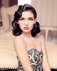 hair and makeup vintage beauty inspiration hairstyles for a retro wedding the excited
