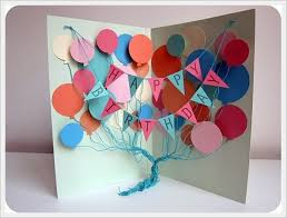 how to make an awesome birthday card 30 cool handmade card ideas