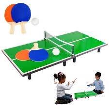 sporting goods ping pong table kids miniature 60 x 30cm table top ping pong table tennis set 2