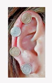 pressure earrings small pressure earrings one pair yellow gold filled or sterling