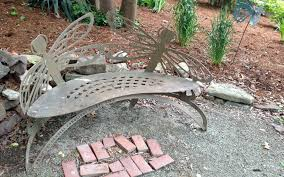 Butterfly Bench Park Story Butterfly Bench Durham Central Park