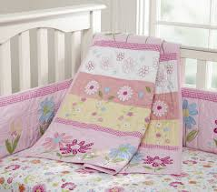 Crib Bedding For Girls Nice Pink Bedding For Pretty Baby Nursery From Prottery Barn