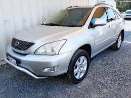 lexus suv second hand automatic upmarket luxury 4x4 suv lexus rx330 2004 for sale 9 490