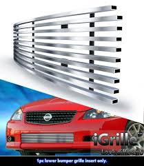 nissan altima 2005 qatar for 2005 2006 nissan altima ser stainless steel billet grille