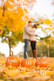 save the date st fall wedding 10 ways to rock your fall wedding pumpkin photos