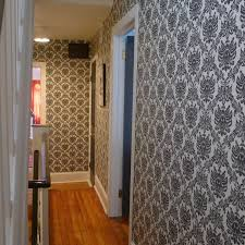 Retro Flooring by Interior Design Outstanding Gray Floral Wall Decals With Wooden