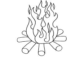 coloring page fire vitlt com