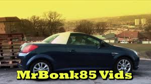 opel tigra 2005 vauxhall tigra automatic roof opening youtube
