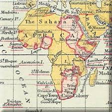 africa map before colonization the empire in africa