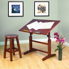 Mayline Oak Drafting Table Drafting Tables Ebay