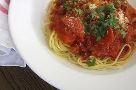 wedding gift spaghetti sauce s pepperoni spaghetti sauce recipe on food52