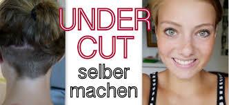 Frisuren Lange D Ne Haare Selber Machen by Undercut Selber Machen