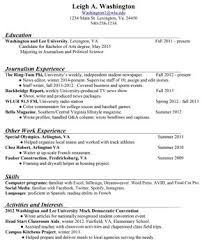 Journalism Resume Samples by Mass Communication Resume Samples Sample Resume Reentrycorps