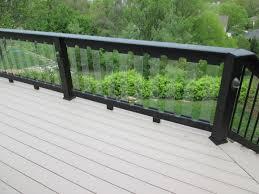 decks designed with glass rails by archadeck st louis decks