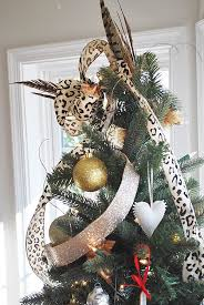 how to make a floral bow or bow for a christmas tree topper 11
