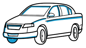 how to draw a car easy step by step for kids easy drawing