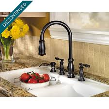 price pfister hanover kitchen faucet tuscan bronze hanover 2 handle pull kitchen faucet 531