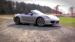 2013 porsche 911 s review 2013 porsche 911 cabriolet review test drive with emme by