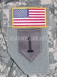 Uniform Flag Patch 4 New Us Army American Flag Military Uniform Velcro Patch Standard