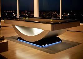 high end pool tables reverse rainbow contemporary pool table by golden west billiards