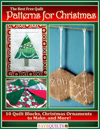 Quilted Christmas Ornaments To Make - the best free quilt patterns for christmas 10 quilt blocks