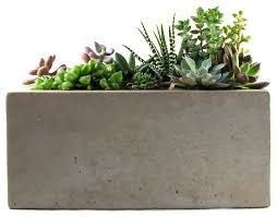 modern outdoor kitchens decorative indoor rectangular planters