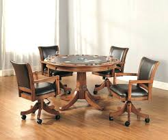 dinette table and chairs with casters kitchen chairs on wheels table dining table chairs casters dining