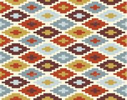 seamless ikat pattern 2 u2014 stock vector radiocat 12570787