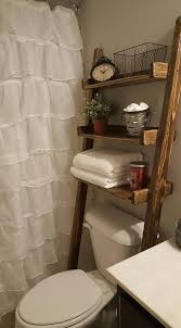 Diy Leaning Ladder Bathroom Shelf by As 25 Melhores Ideias De Leaning Ladder Shelf No Pinterest