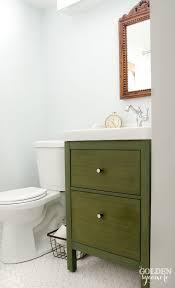 Ikea Hack Bathroom Vanity by Milk Painted Ikea Bathroom Vanity Milk Paint Bathroom Vanity Tsc