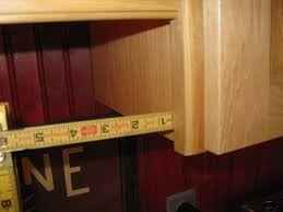 Above Cabinet Lighting by Installing Molding For Under Cabinet Lighting A Concord Carpenter