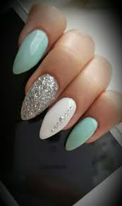 25 best mint nails ideas on pinterest tiffany nails mint green
