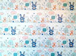 baby boy wrapping paper new baby boy wrapping paper with rabbit design lovely high