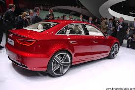 audi a3 in india price audi a3 sedan india launch by 2014